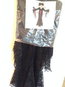 Girls Black Widow Halloween Costume Strathcona County Edmonton Area image 2
