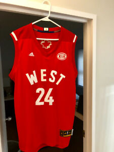 NBA AUTHENTIC ALL STAR JERSEY WEST #24 KOBE BRYANT SIZE MEDIUM
