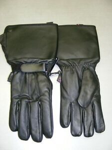 Cold Weather Leather Gauntlet Gloves - Waterproof at RE-GEAR Kingston Kingston Area image 1