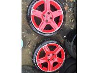 "Peugeot 206 Gti 180 17"" alloy wheels Citroen ( 106 306 Saxo c2 c4 partner relay)"