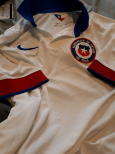 Nike Dri-Fit Chile Soccer shirt (LG)