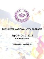 2016 Miss International Ville Pageant Candidats (Prix $ 1000)