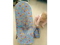 Mothercare baby bouncer with head support