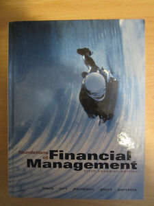 Foundations of Financial Management 9th Canadian Edition Kitchener / Waterloo Kitchener Area image 1