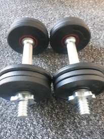 Brand new dumbbell gym weights set