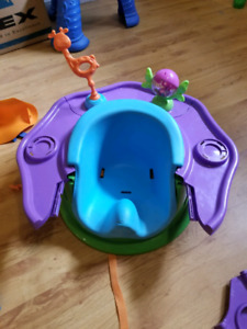 Chaise pour bebe adjustable dumbo