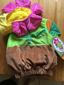 NWT FLOWER POT COSTUME SIZE 6-12 MONTHS