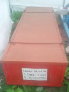 Large Metal Box with lid