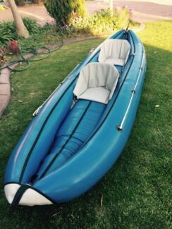 Inflatable kayak 2 seater West Lakes Charles Sturt Area Preview