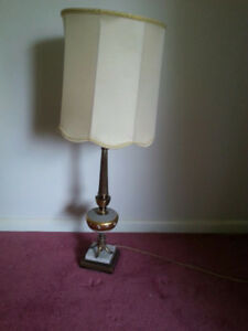 Vintage table lamps (2)