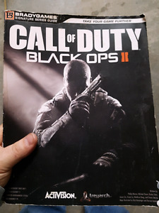 Call of Duty black ops 2 book.