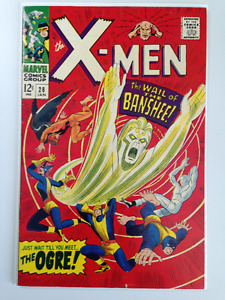 1st Banshee in X-Men comic 28 approx 6.5 $150, OBO
