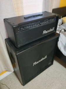 Randall KH 120  Half Stack *Mint Condition*