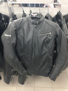 286321306 - VICTORY MOTORCYCLE LEATHER JACKET - BRAND NEW!