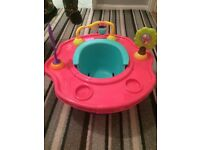 Bumboo seat with activity centre