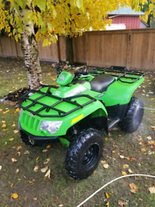 2007 Arctic Cat 400 Limited Edition 4x4