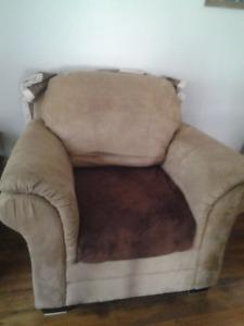 Micro Fibre Suede Chair