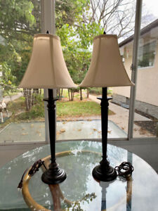 2 - Matching Lamps with Shades