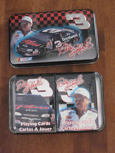 DALE EARNHARDT # 3 PLAYING CARDS Cornwall Ontario image 5
