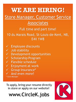 Circle K is now HIRING !