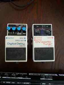 Boss delay & tuner, m-audio fastrack, and POD effect floor pedal Kitchener / Waterloo Kitchener Area image 6