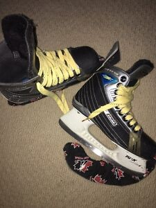2 pairs of skates for sale