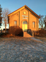 Heritage Community Hall Rental and Picnic Grounds for Rent