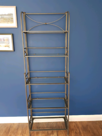 Wrought iron display unit / shelves
