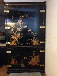 Meubles laqués noirs chinois/Black Lacquer Chinese furniture West Island Greater Montréal image 9