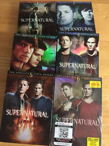 Supernatural: TV Series - The Complete First to Sixth Seasons