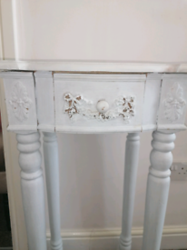 wooden stand or console table