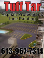 Parking Lot Line Painting & Maintenance