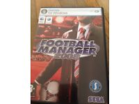 Football manager game for Windows.