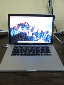 "APPLE 15"" MacBook Pro (Mid 2010) i5 with 250GB SSD Hard Drive!"