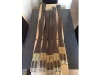 5 Brown Leather Girth £25 Each Or £100 Job Lot