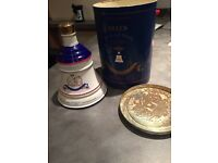 Bells scotch whiskey princess Beatrice limited edition 8/8/88 bottle full with case