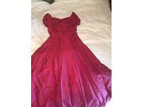 Monsoon silk dress size 16