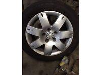 Vw Passat 5x112 16inch alloy wheels