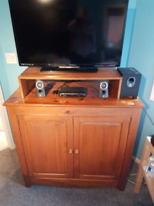 TV and Storage Unit - Solid Wood