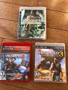PS 3 - Uncharted Games