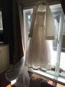 Robe de la mariee a vendre et voile