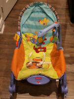 Excellent condition fisher price newborn to toddler rocker