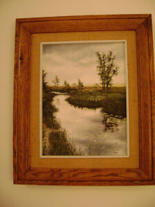 "Original Oil Painting By Julie Harris ""Tranquility"""