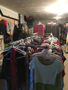 Used clothes for sale by the bulk !! Great for yard/ garage sale