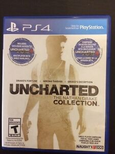 Uncharted 1,2 and 3 collection