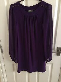 Ladies medium purple dress