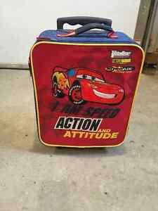Kid's Disney Car's Theme Luggage Bag