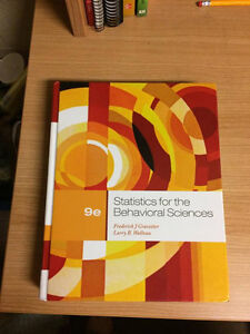 REDUCED Statistics for the Behavioral Sciences by Gravetter