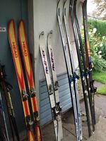 vintage skis for sale