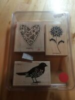 Stampin Up Stamp Set - Friendly Flowers